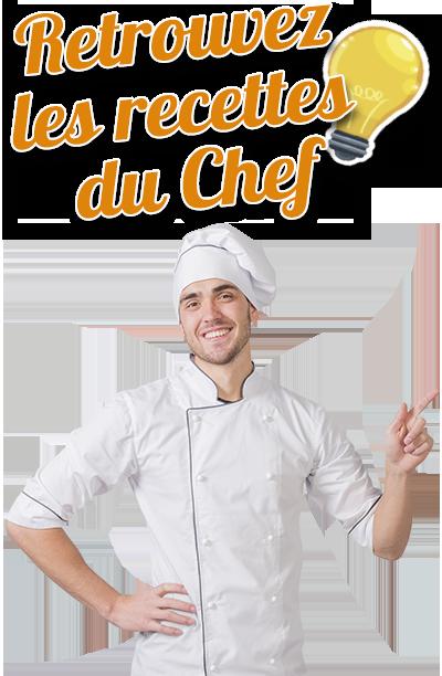 Recettes du Chef avec la Spiruline Comtoise